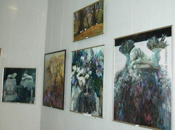 В Симферополе выставили работы претендентов в Нацсоюз художников Украины (фото), фото-4