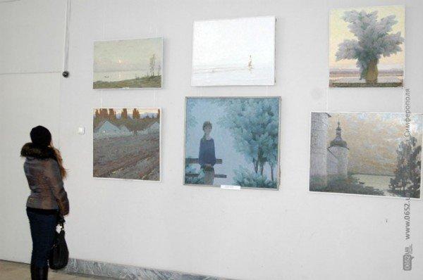 В Симферополе выставили работы претендентов в Нацсоюз художников Украины (фото), фото-5