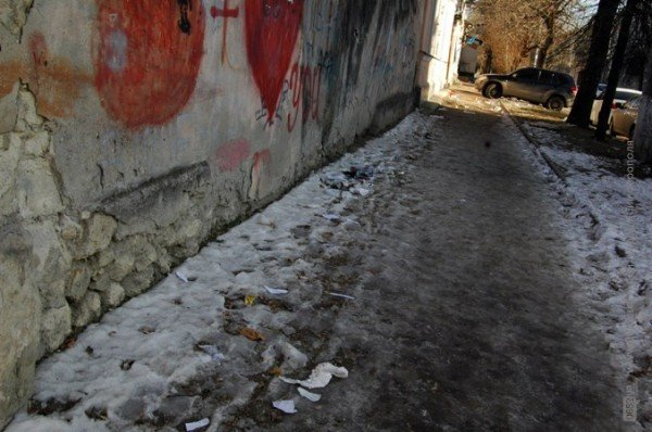В Симферополе дорога к «покращенню життя» пролегла через мусорные завалы (фото), фото-5