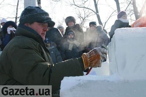Хулігани ледь не зірвали центральний захід Свята Зими в Тернополі, фото-4