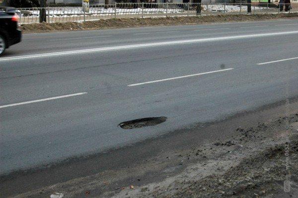 Капремонт дорог по-симферопольски: через год считаем ямы (фото), фото-1