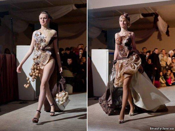 Тернопільський кутюр'є Ярослав Гродський представив «шоколадний» одяг, фото-2