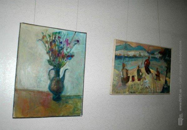 Крымский художник показал симферопольцам свое «Видение любви» (фото), фото-1