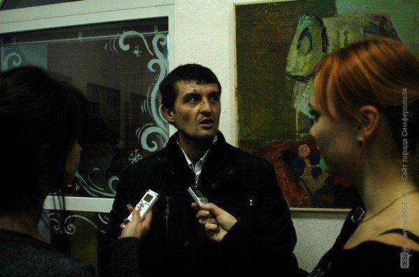 Крымский художник показал симферопольцам свое «Видение любви» (фото), фото-2
