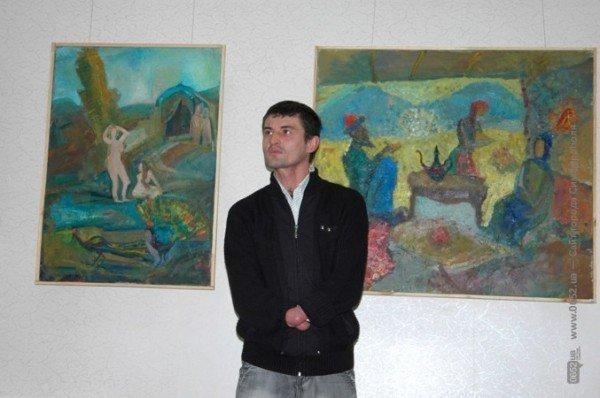 Крымский художник показал симферопольцам свое «Видение любви» (фото), фото-4