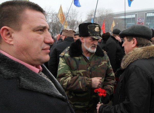 Митинг афганцев в Донецке закончился скандалом — ветераны кричали руководителю «верни украденные деньги» (фото), фото-8