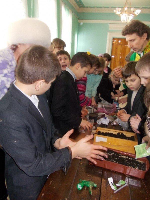 Артемовские школьники посеяли пшеницу и выпустили жаворонков, фото-9