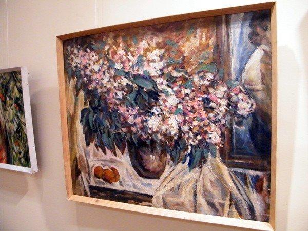 Горловские художники изобразили красоту и обаяние цветов и женщин, фото-2