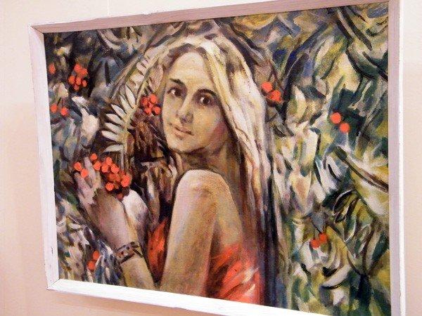Горловские художники изобразили красоту и обаяние цветов и женщин, фото-3