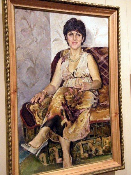 Горловские художники изобразили красоту и обаяние цветов и женщин, фото-4