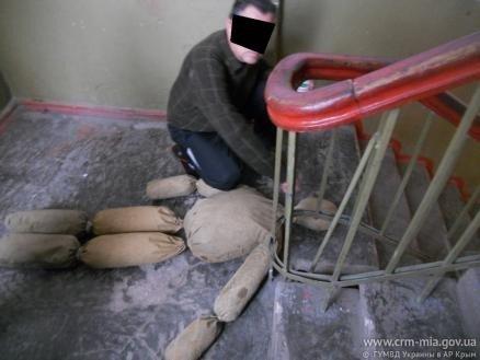 34-летний крымчанин едва не сжег заживо отчима (фото), фото-1
