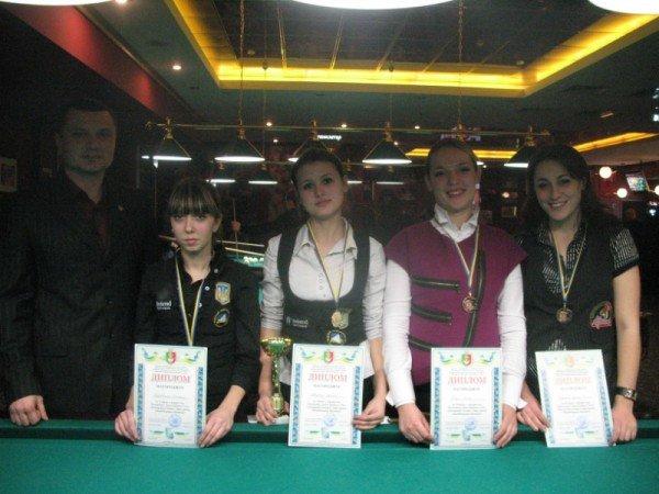 Состоялся открытый чемпионат Кривого Рога по бильярду среди женщин, фото-5