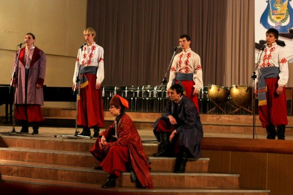 Артемовские студенты подняли казацкое восстание, фото-2