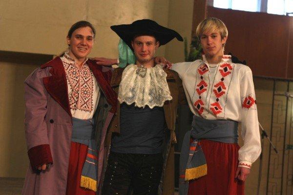 Артемовские студенты подняли казацкое восстание, фото-1