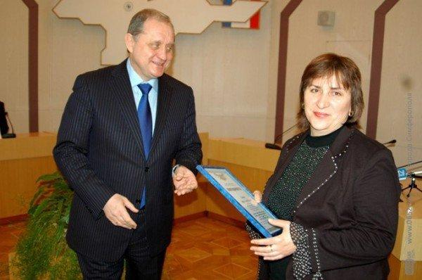 Могилев подарил часы опальному бизнесмену Бейму (фото), фото-1