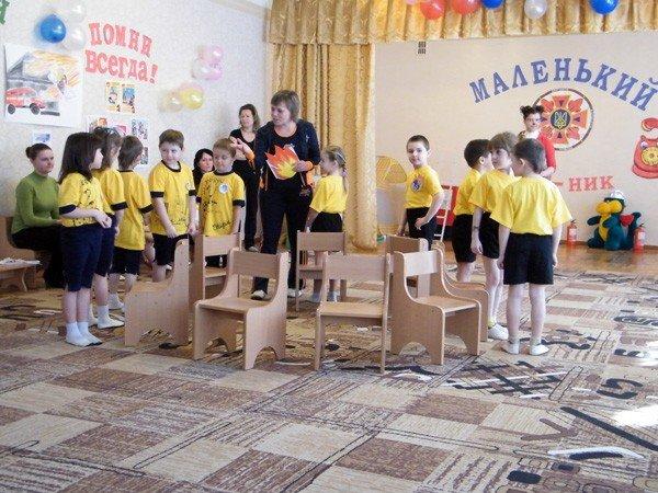 Сегодня в Горловке пополнились ряды маленьких МЧСников, фото-4