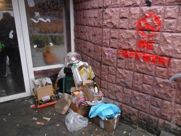 Весну в Симферополе встречают мусором (фото), фото-2