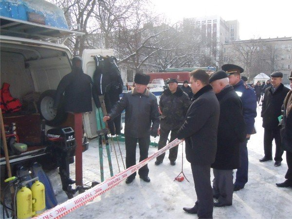 Криворожские МЧСники проверили готовность города к паводкам (ФОТО), фото-1