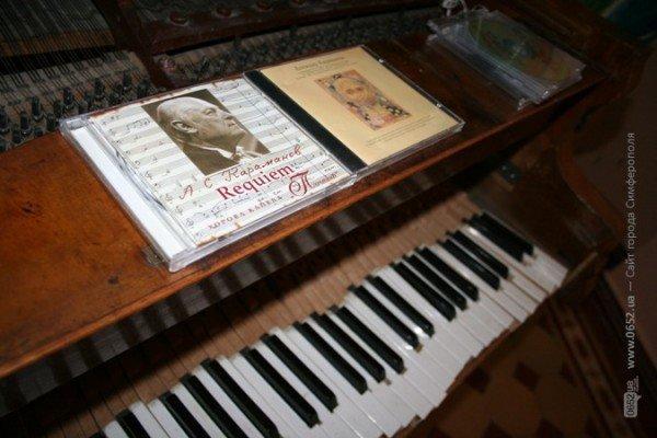 В Симферополе нарисовали музыку знаменитого крымского композитора (фото), фото-2