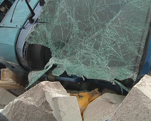 На  трассе Кривой Рог - Днепропетровск перевернулся грузовик (ФОТО), фото-7