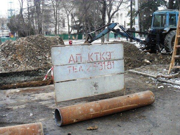 В Симферополе копают под Верховной Радой Крыма (фото), фото-3