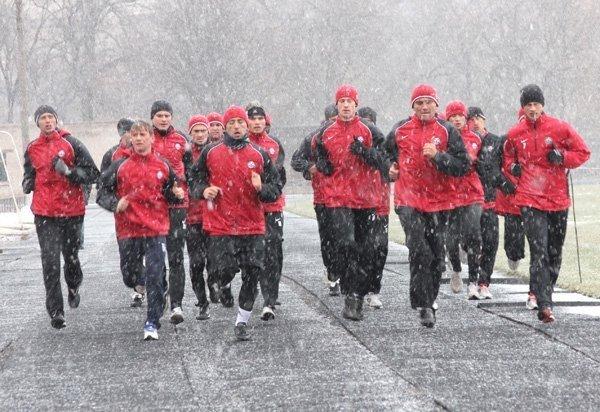 ФК «Кривбасс» вернулся  домой и тренируется на своей базе (ФОТО), фото-1