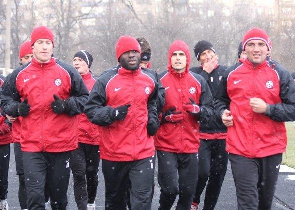 ФК «Кривбасс» вернулся  домой и тренируется на своей базе (ФОТО), фото-3