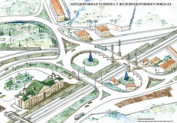 Проект моста возле вокзала Севастополя лишь частично решает проблему пробок (ФОТО), фото-1