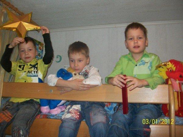 Единственная в Артемовске тройня отметила первый юбилей, фото-5