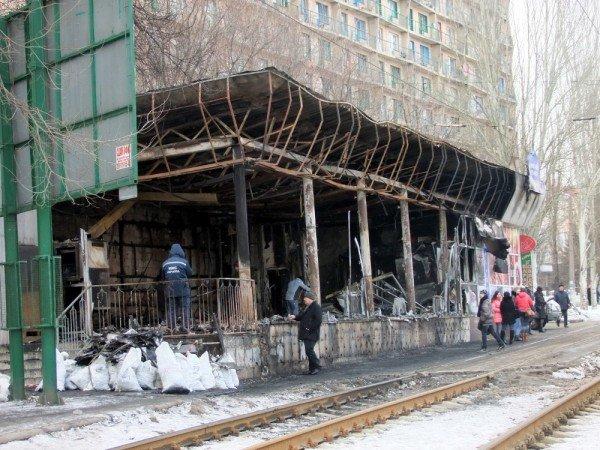 В центре Донецка сгорел «Истамбул» (фото), фото-5