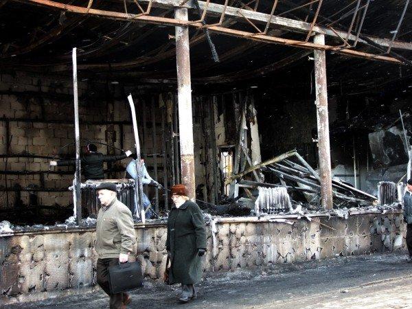 В центре Донецка сгорел «Истамбул» (фото), фото-2