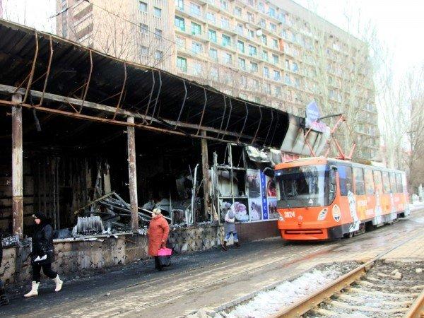 В центре Донецка сгорел «Истамбул» (фото), фото-4