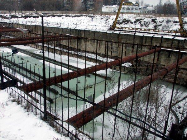 В Донецке может уйти под воду недостроенная станция метро вместе с объектом «Евро-2012» (фото), фото-4