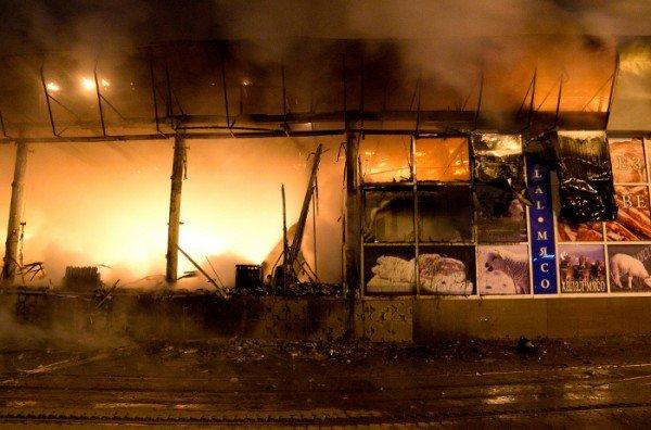 Как в Донецке горел «Истамбул» - уникальные фото, снятые очевидцем (фото), фото-1