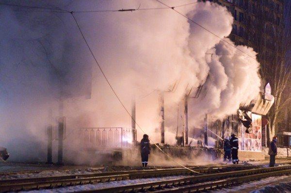 Как в Донецке горел «Истамбул» - уникальные фото, снятые очевидцем (фото), фото-4