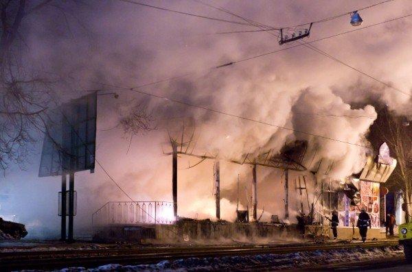 Как в Донецке горел «Истамбул» - уникальные фото, снятые очевидцем (фото), фото-5