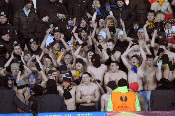 Харьковские футбольные фаны выступили против закона, запрещающего драки и петарды на стадионах (фото), фото-2