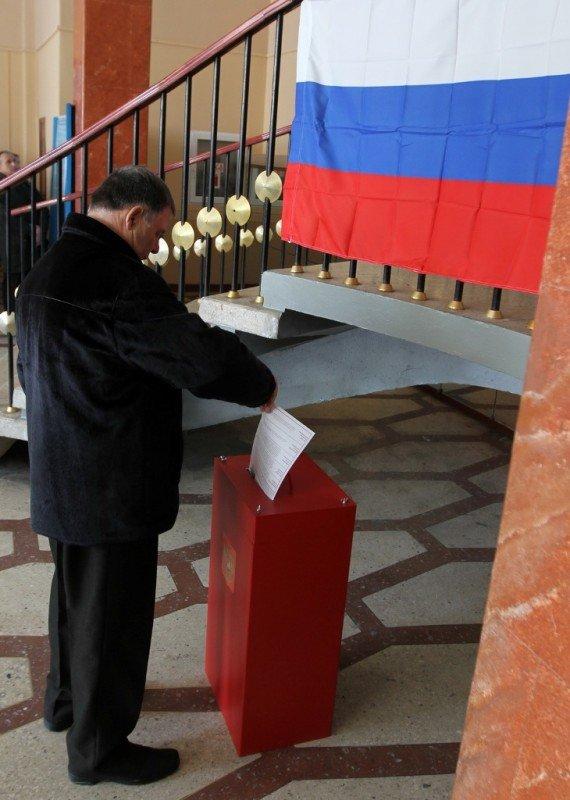 Как в Донецке выбирали президента России (фото), фото-1