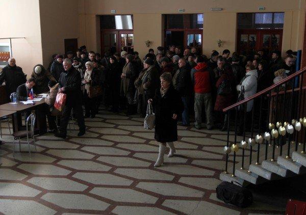 Как в Донецке выбирали президента России (фото), фото-8