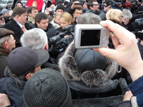 Под Качановской колонией прошел митинг с участием ВО «Батьківщина» и чернобыльцев (фоторепортаж), фото-7