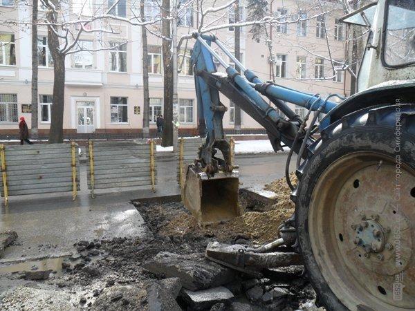 Движение по улице Павленко Симферополя затруднено (фото), фото-3