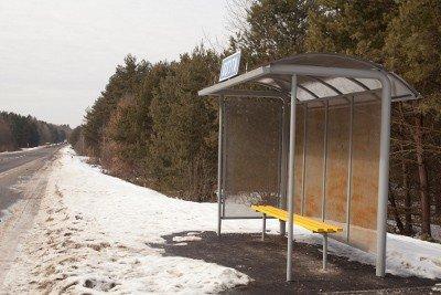 Дорогу Львів-Краківець «прикрасили» іржавими зупинками за 420 тис грн, фото-3