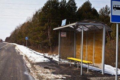 Дорогу Львів-Краківець «прикрасили» іржавими зупинками за 420 тис грн, фото-2