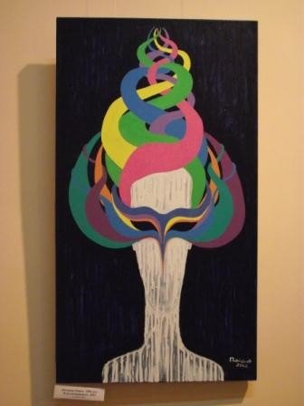 Юные горловские художницы в своих картинах рассказывают о «Свободе ощущений», фото-4
