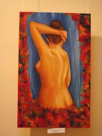 Юные горловские художницы в своих картинах рассказывают о «Свободе ощущений», фото-5