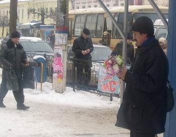 На продавців підсніжників полюватиме міліція Львова, фото-2