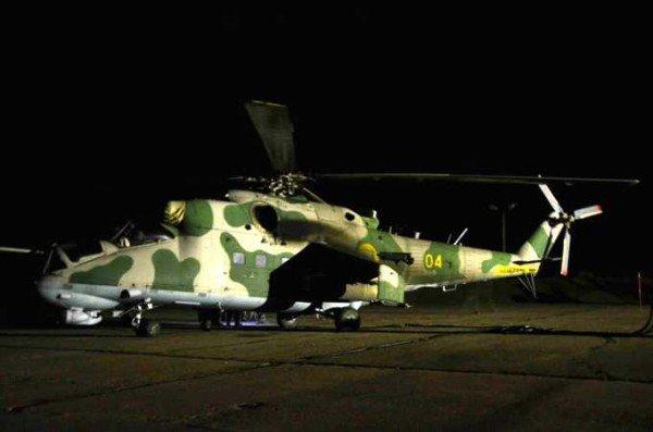 В Крыму закончили испытывать модернизированный вертолет Ми-24П (фото), фото-4