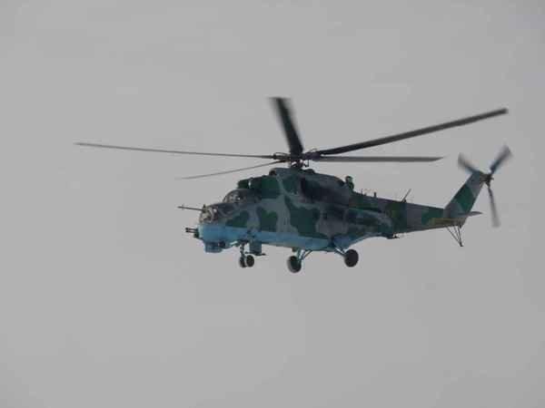 В Крыму закончили испытывать модернизированный вертолет Ми-24П (фото), фото-1