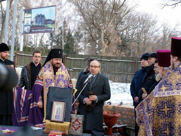 В Харькове заложен храм святой Тамары (фоторепортаж), фото-4