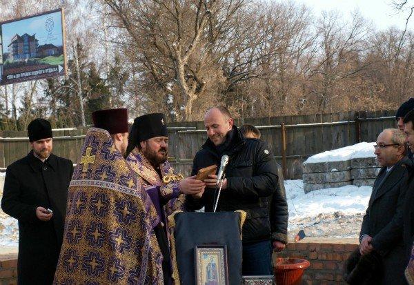 В Харькове заложен храм святой Тамары (фоторепортаж), фото-5